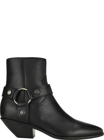 Saint Laurent West Harness Ankle Boots