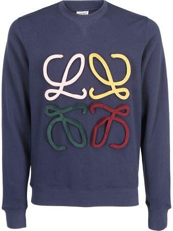 Loewe Anagram Cut Sweatshirt