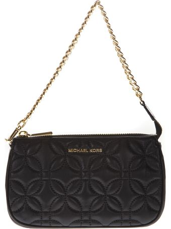 MICHAEL Michael Kors Mini Bag In Quilted Black Leather