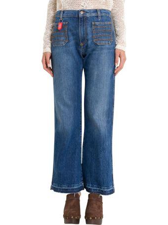Philosophy di Lorenzo Serafini Flare Cropped Jeans