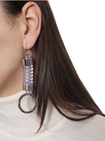 MM6 Maison Margiela Spiral Cord Earring