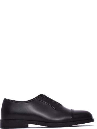 Fratelli Rossetti One Lace-up Black Calf Leather Shoe