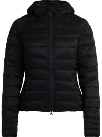 Canada Goose Brookvale Black Fabric Down Jacket With Hood