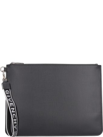 Givenchy Pouch With Logo Detail Wristlet