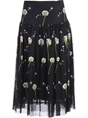 Blugirl Floral Pattern Skirt