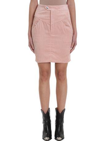 Isabel Marant Marsh Pink Cotton Skirt