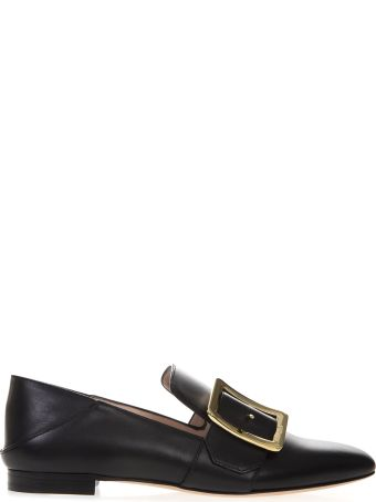 Bally Janelle Black Color Loafers In Leather
