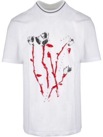 Napa By Martine Rose Napa Martine Rose Graphic Rose Print T-shirt