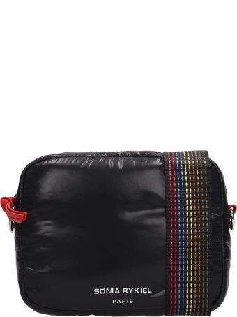 Sonia Rykiel Black Nylon Camera Bag