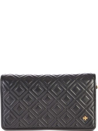 Tory Burch Fleming Leather Wallet On Chain