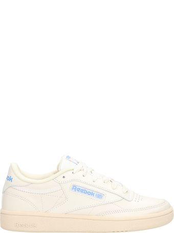Reebok Club C 85 White Leather Sneakers