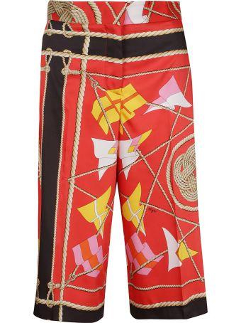 MSGM Sail Print Trousers