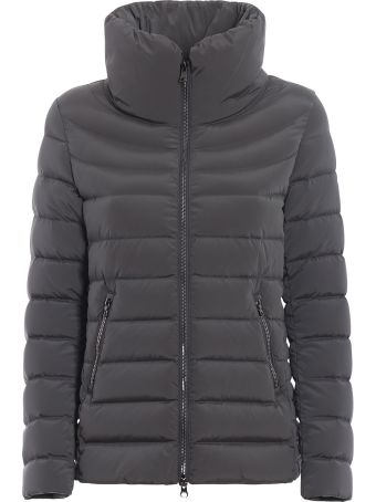 Colmar Grey Puffer Jacket In Opaque Nylon