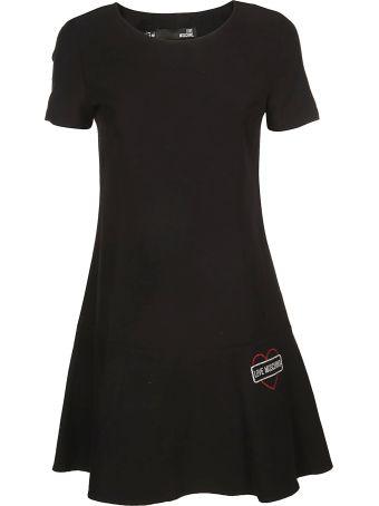 Love Moschino Flared Dress