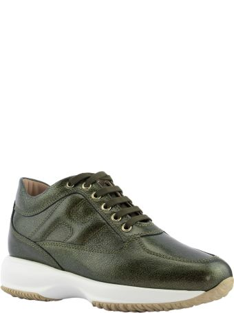 Hogan Interactive Green Sneakers