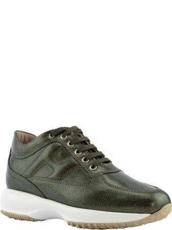 Hogan Interactive Green Sneakers