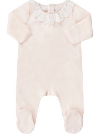 Chloé Pink Babygrow For Babykids