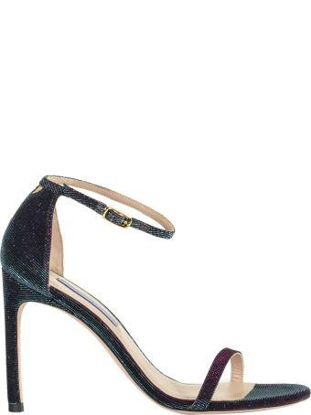 Stuart Weitzman Contrasting High Heel Sandals