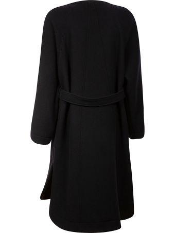 Chloé Coat Belted Waist One-side Dress