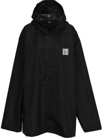 VETEMENTS Short Raincoat