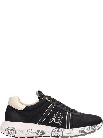 Premiata Black Nylon Mattew Sneakers