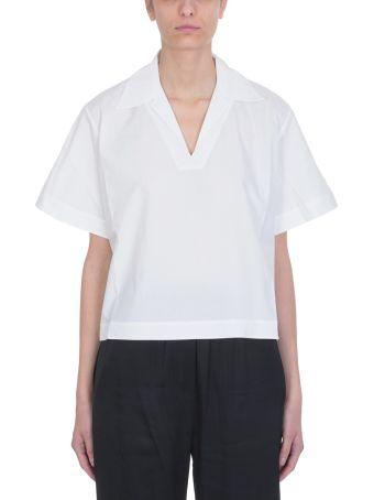 Acne Studios White Cotton Sasha Topwear