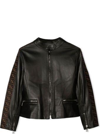 Fendi Biker Black Jacket