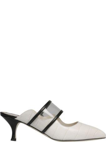 Francesca Bellavita Kitten Heel Sandals