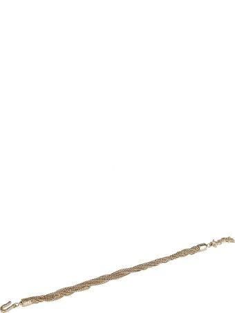 Saint Laurent Lou Lou Twisted Necklace