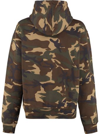 Dsquared2 Printed Cotton Hoodie