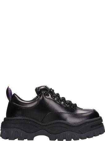 Eytys Angel Black Leather Sneakers