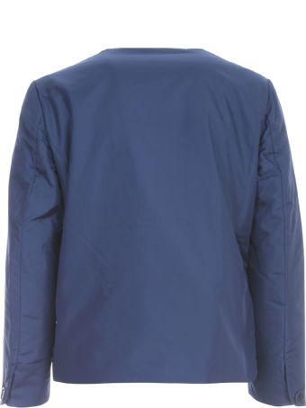 Aspesi New Tenerina Crew Neck Jacket W/applied Pocket
