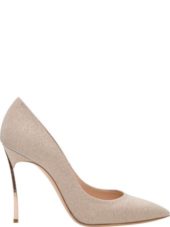 Casadei Pointy Pumps With Blade Heel