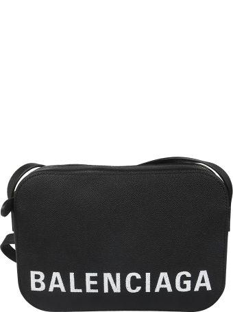 Balenciaga Logo Print Mini Shoulder Bag