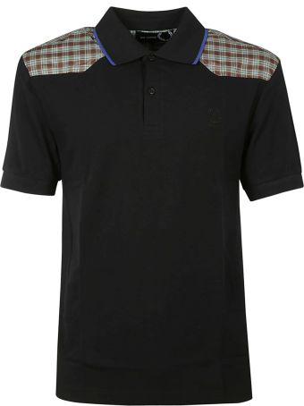 Fred Perry Raf Simons X Fred Perry Check Shoulders Polo Shirt