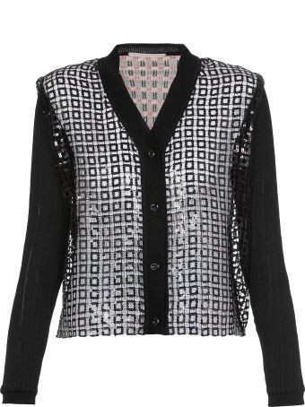 Marco de Vincenzo Knitted Cardigan With Sequins