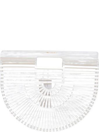 Cult Gaia Acrylic Ark Small In White