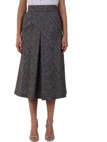 Dolce & Gabbana Wool Midi Skirt