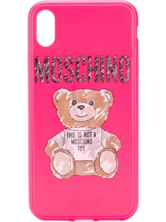 Moschino Brushstroke Teddy Bear Iphone Xs Case