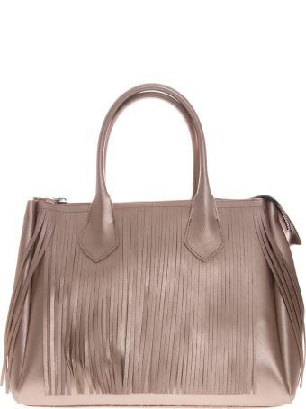 Gianni Chiarini Handbag Fourty In Vinyl Soft Pink