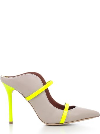 Malone Souliers Double Strap Pumps