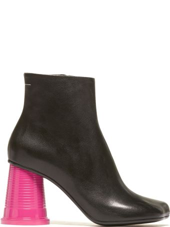 MM6 Maison Margiela Color-block Ankle Boots