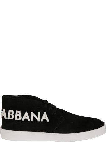Dolce & Gabbana Logo Lace-up Shoes