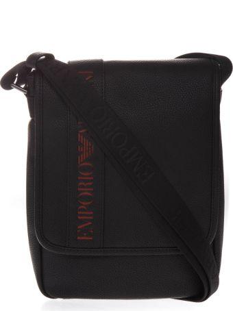 Emporio Armani Black Logo Bag