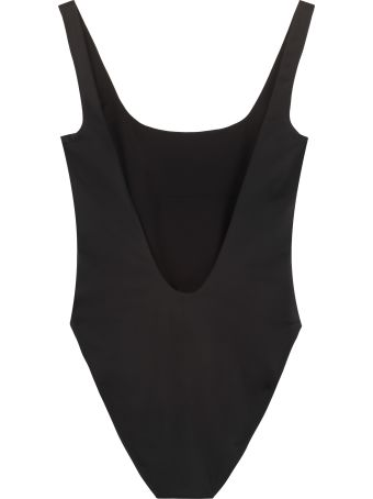Versace One-piece Swimsuit With Logo