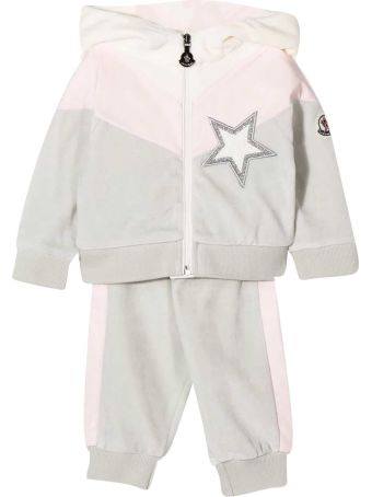 Moncler Tracksuit With Frontal Star Application