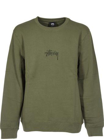 Stussy Logo Embroidered Sweatshirt