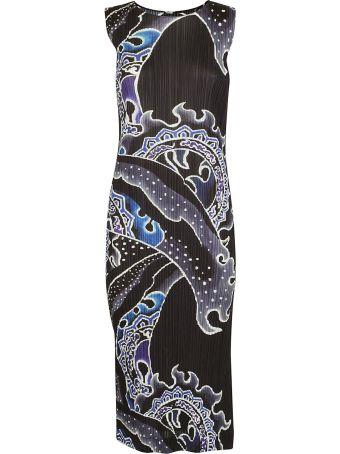 Issey Miyake Printed Dress