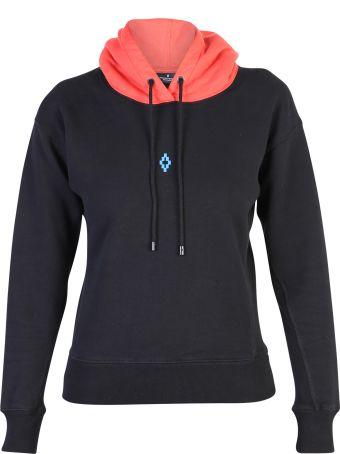 Marcelo Burlon Black Branded Sweatshirt