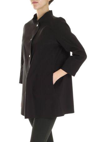 Herno Waxed Cotton Overcoat
